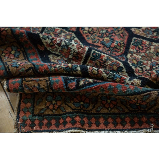 """Textile Antique Fragment Northwest Persian Rug - 3'2"""" X 5' For Sale - Image 7 of 12"""