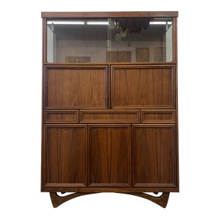 Mid Century Modern Standing Wall/ Display Unit For Sale