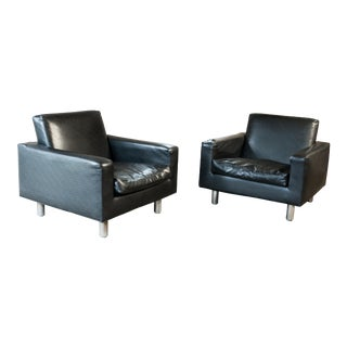 Mid Century Milo Baughman for Thayer Coggin Lounge Chairs - a Pair For Sale