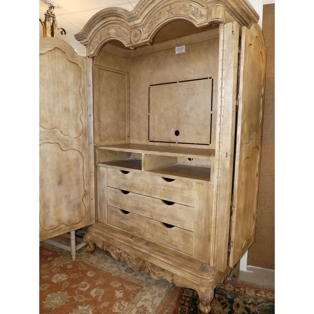 Ferguson Copeland French Country Armoire For Sale In West Palm - Image 6 of 11