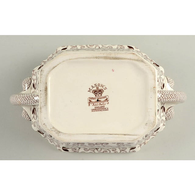 Mason's Bow Bells Brown Tureen & Lid For Sale - Image 10 of 11