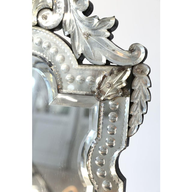 Vanity-Top Venetian Mirror For Sale - Image 9 of 12