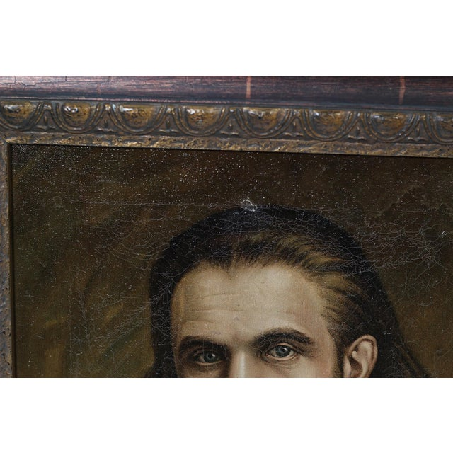 19th Century Oil Portrait of a Man by A.J. Day - Image 3 of 3