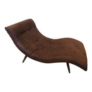 Adrian Pearsall Wave Chaise Lounge For Sale