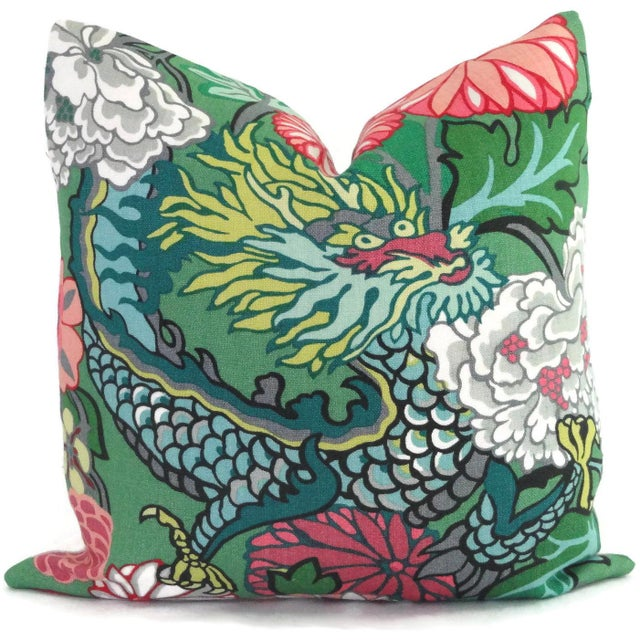 Add a pop o' color to your decor with this of chiang mai dragon pillow cover. If your room is in need of a statement piece...