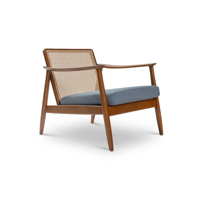 Blue Pair of Folke Ohlsson / Dux Lounge Chairs For Sale - Image 8 of 12