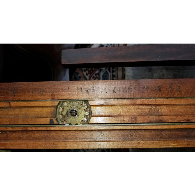 Americana Late 19th Century American Mahogany Extendable Dining or Center Table For Sale - Image 3 of 13