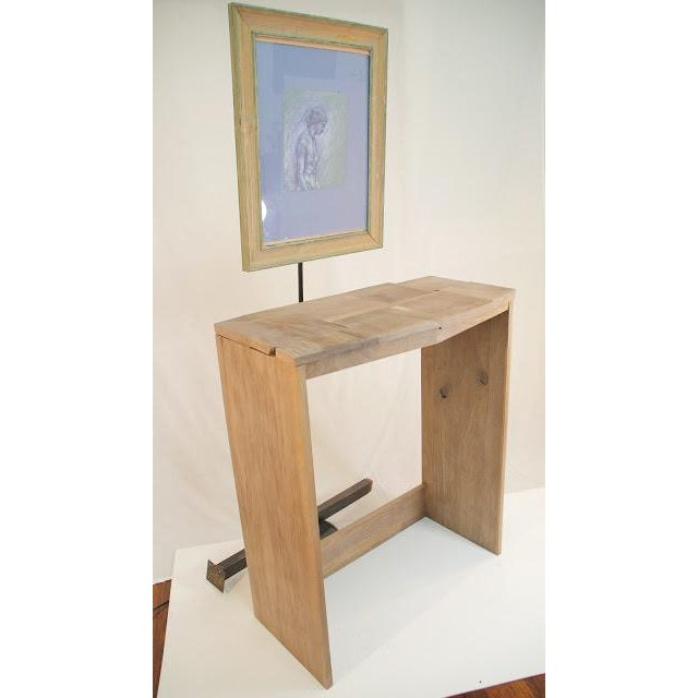 Contemporary Fashion Inspired Walnut Console Table For Sale - Image 9 of 9
