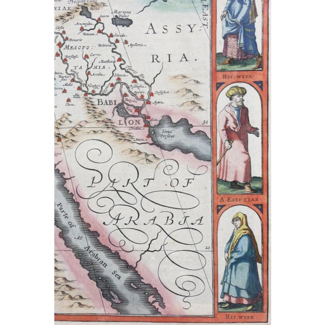 Paint Framed Map of Roman Empire For Sale - Image 7 of 11