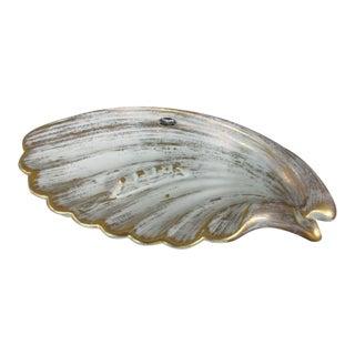 Royal Haeger Ceramic Shell Dish For Sale