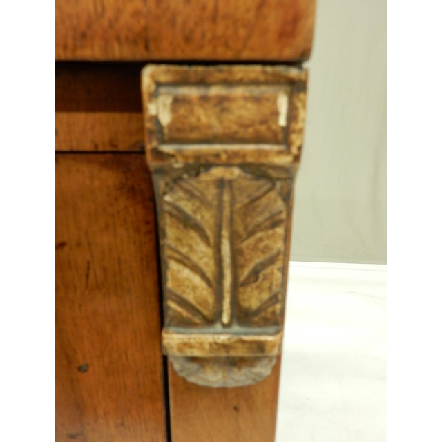 Early 19th Century Small Italian Walnut Commde For Sale In New Orleans - Image 6 of 11