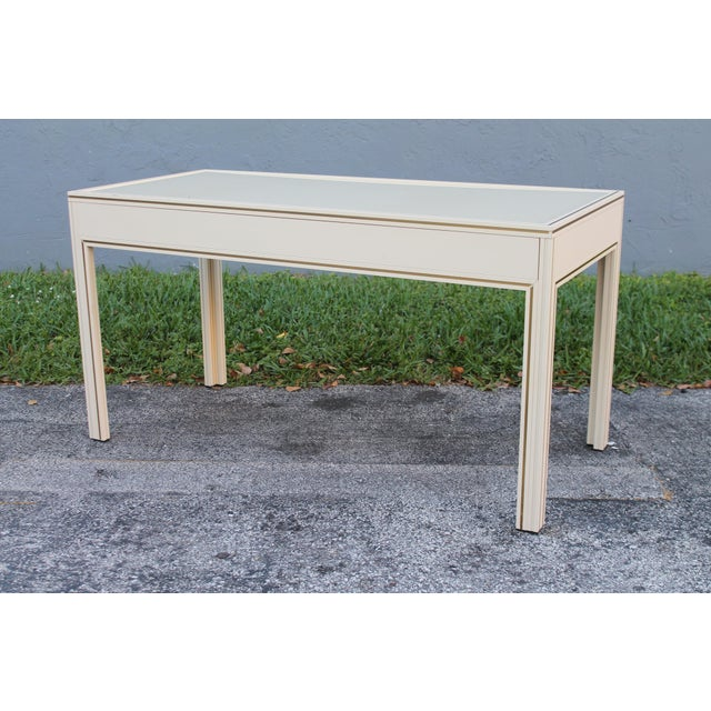 1980s 1980s Vintage Writing Desk For Sale - Image 5 of 9