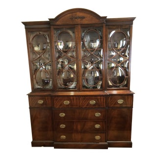1950s Traditional Vanleigh Furniture Armoire For Sale