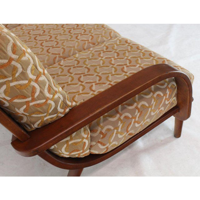 1960s Conant Ball Russel Right Solid Bent Maple Sofa For Sale - Image 5 of 13