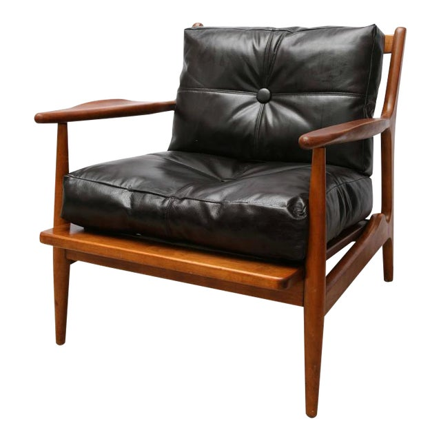 Teak Chair by Conant Ball, 1950s, Usa For Sale