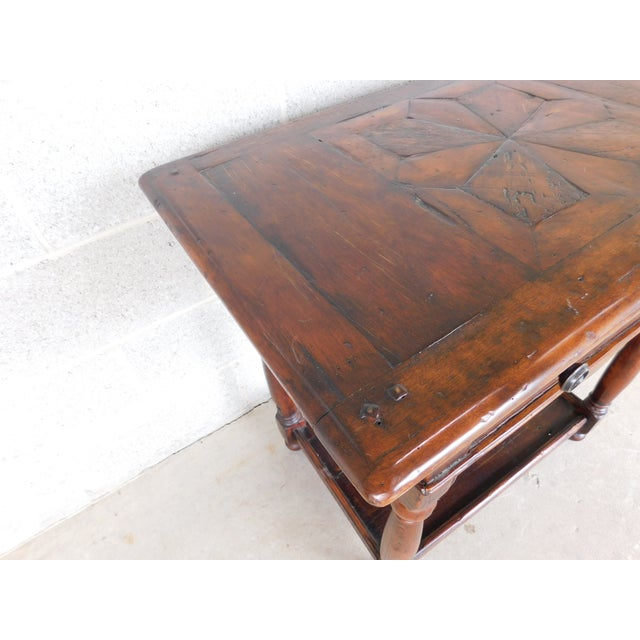 Theodore Alexander Castle Bromwich Collection 1 Drawer Accent Table For Sale - Image 9 of 12