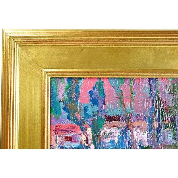 Juan Guzman Riverside Painting For Sale - Image 4 of 4