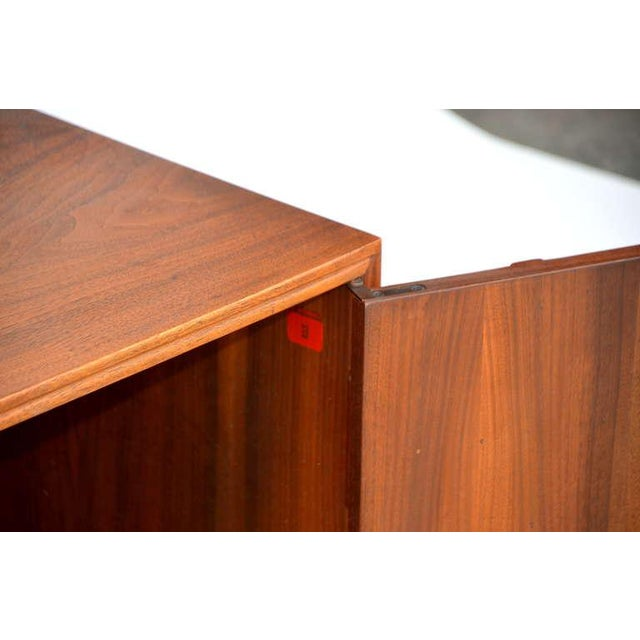 Rare Carved Walnut Cabinet by Brown Saltman For Sale In Los Angeles - Image 6 of 10