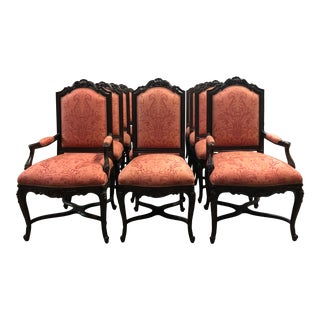 Contemporary Lewis Mittman Dining Chairs - Set of 12 For Sale