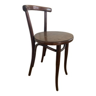 Original 1908 Antique Thonet Bentwood Stool For Sale