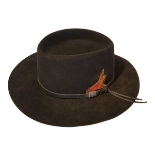 Vintage Flechet Longhorn Hat For Sale