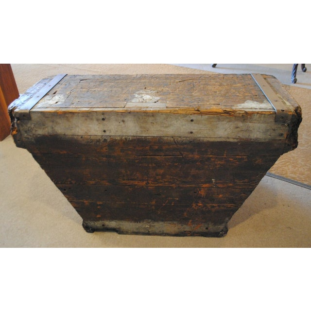 Industrial Foundry Mold Side Table - Image 8 of 8