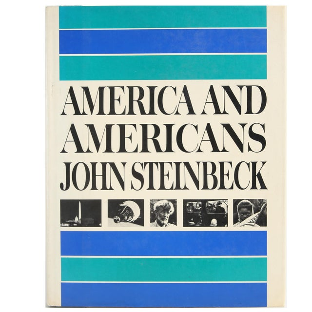 """1966 """"America and Americans"""" Coffee Table Book For Sale In Atlanta - Image 6 of 6"""