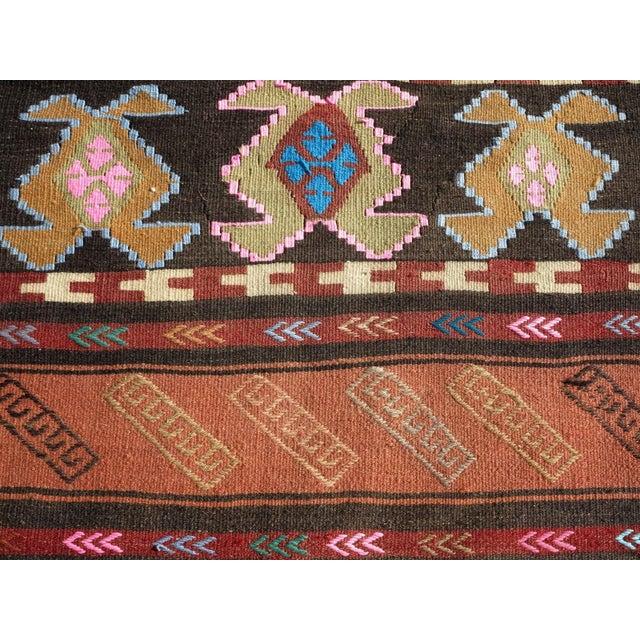 """Vintage Turkish Kilim Runner-2'6'x10"""" For Sale - Image 9 of 13"""
