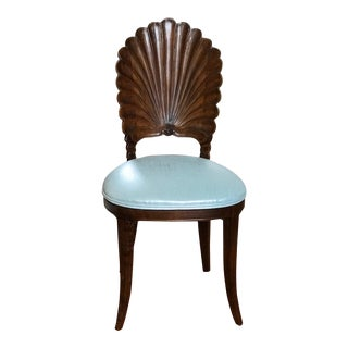 Venetian Grotto Style Shell Chair For Sale