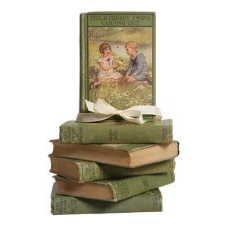 Antique Book Gift Set: Laura Lee Hope, S/6 For Sale