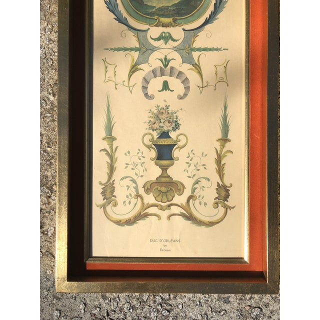 Neoclassical Neoclassical Framed Lithograph Prints - a Pair For Sale - Image 3 of 12