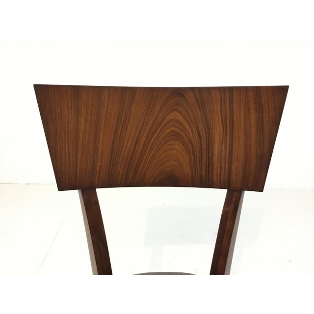 Modern Modern Klismos Emerson Roswood Side Chair For Sale - Image 3 of 7