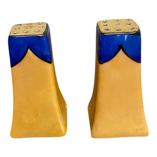 Art Deco Salt and Pepper Shakers For Sale