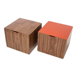 Four Square Storage Cube For Sale