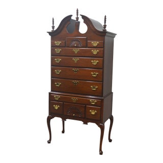 Councill Solid Mahogany Highboy For Sale