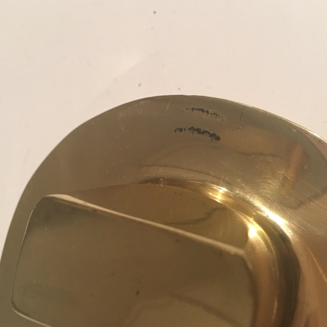 Brass Hat Paper Weight For Sale In Washington DC - Image 6 of 8