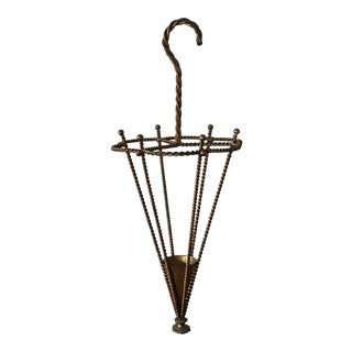 Elegant Italian Umbrella Stand For Sale