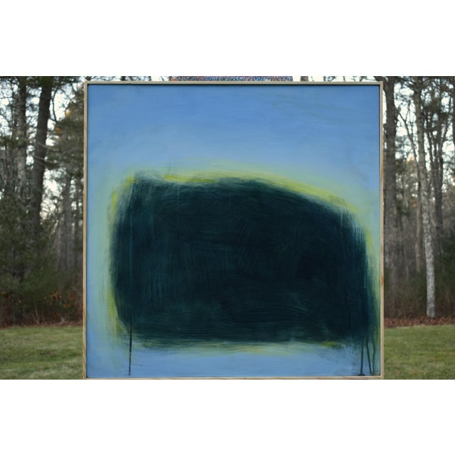 "Paint Modern ""Touch, Summer Morning"" Abstract Diptych by Stephen Remick For Sale - Image 7 of 13"