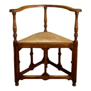 Arts and Crafts Corner Chair For Sale