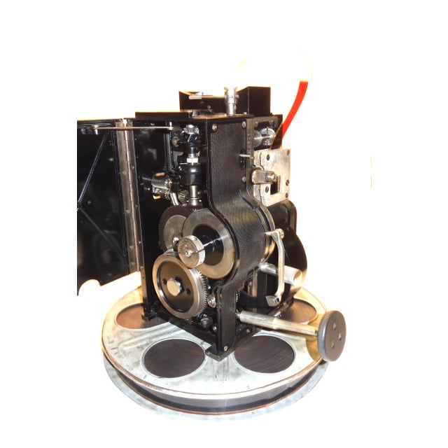 1930s Kaplan 35mm Cinema Movie Projector Head, Circa 1930 Fully Restored and Gorgeous. For Sale - Image 5 of 12