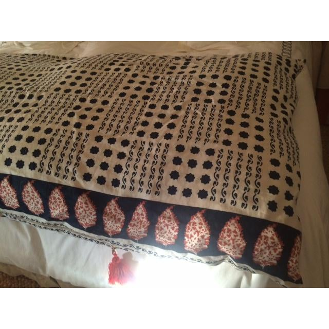 Tan Sister Parish Moroccan Day Bed Cushion For Sale - Image 8 of 10