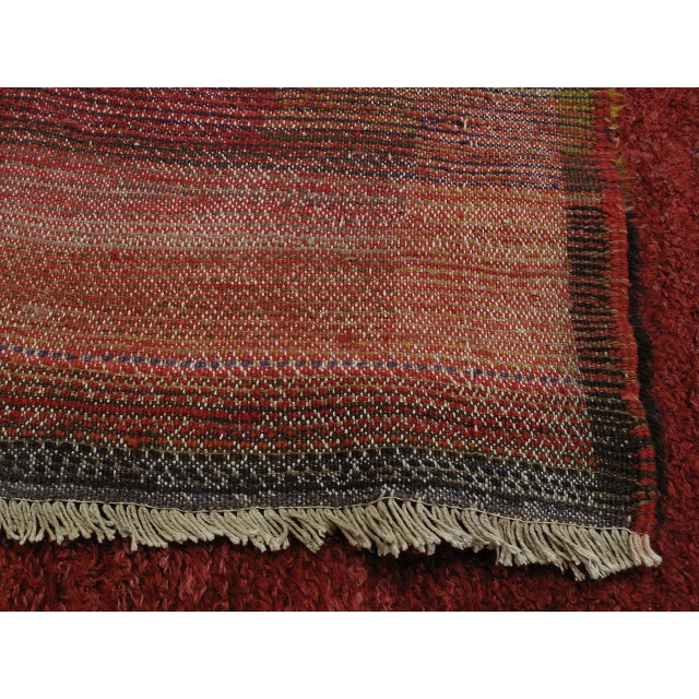 """""""Contemplation,"""" Tulu Rug For Sale - Image 9 of 9"""