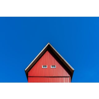 """""""The Finnish House"""" Contemporary Architectural Photograph Print For Sale"""