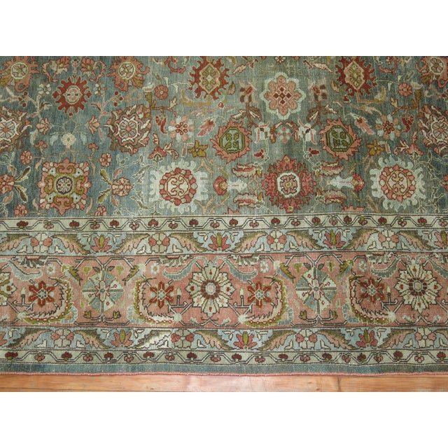 Antique Malayer Rug, 9' X 11'8'' For Sale - Image 9 of 11