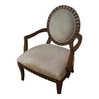 Vintage French Style Round Back Chair