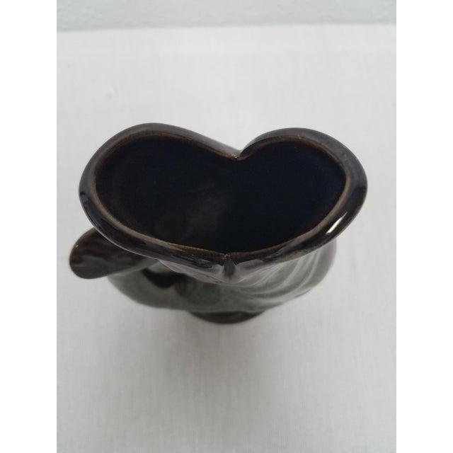 Vintage Green Fosters Studio Pottery Gurgling Jug or Vase For Sale - Image 9 of 10