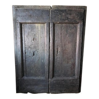 Tuscan Antique Window Shutters For Sale