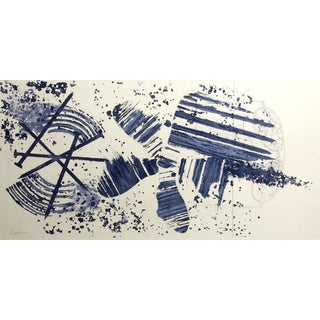 """1970s James Rosenquist """"Carousel State Ii"""" Hand Signed Etching For Sale"""