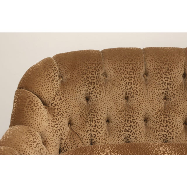 """Early 21st Century Marge Carson Transitional 74"""" Loveseat For Sale - Image 5 of 13"""