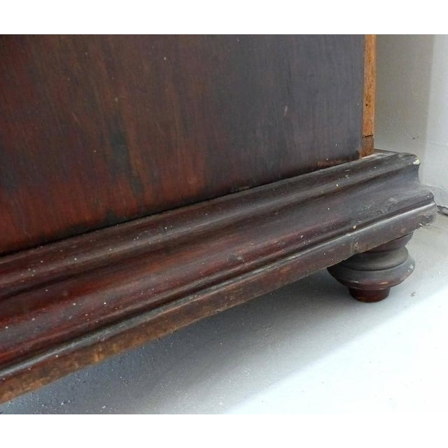 19th Century Burmese Over-Scale Carved Rosewood Anglo-Indian Sideboard For Sale - Image 10 of 11